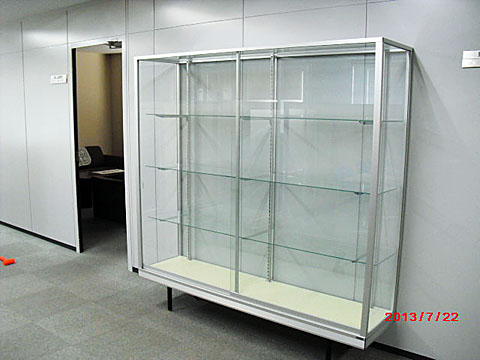 0013 ガラスショーケース(スタンダード)