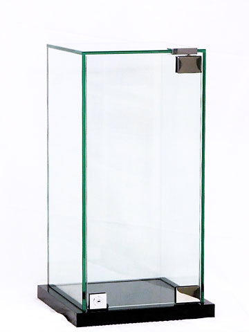 ガラスケースの写真