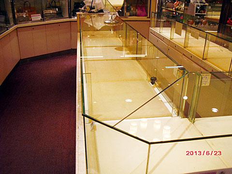 0008 天板ガラス交換