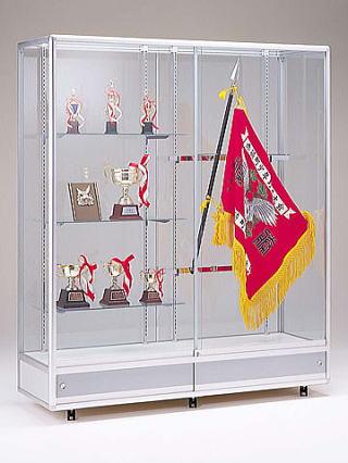 優勝旗やトロフィー・楯・優勝カップ・メダルなどを飾るのに最適な優勝旗ケース
